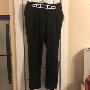 Curvy fit Worthington black dress slacks